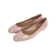 Salvatore Ferragamo/菲拉格慕 女士粉色牛皮BRONI系列平底休闲鞋 38.5码-BRONI 0684700