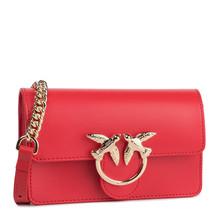 Pinko 品高 女士红色燕子链条包 1P21KR Y5FFR24
