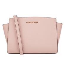 MICHAEL KORS 迈克 科尔斯 女士时尚单肩斜挎笑脸包 浅粉色35H8GLMM6L BLOSSOM